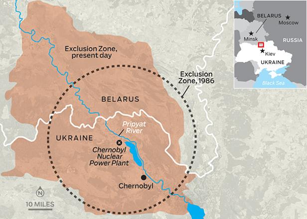 Pripyat Exclusion Zone VegCrew