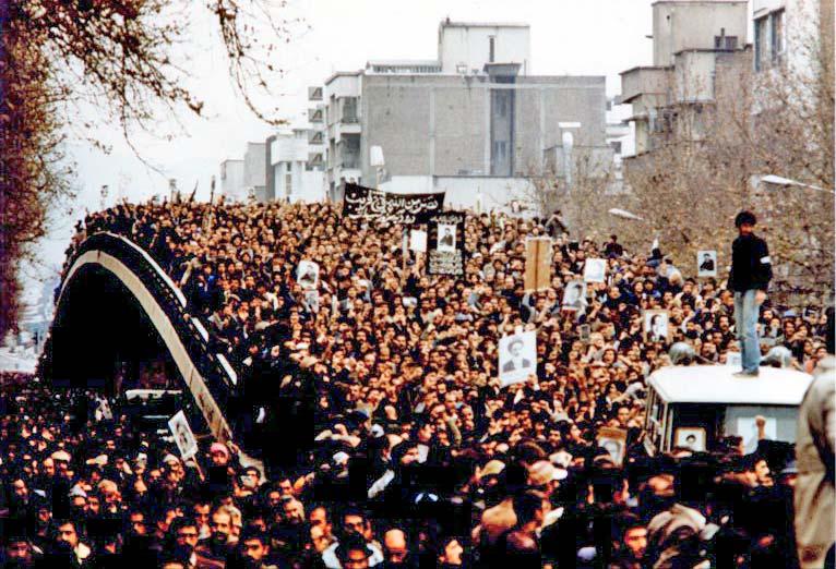 Mass demonstration Iran
