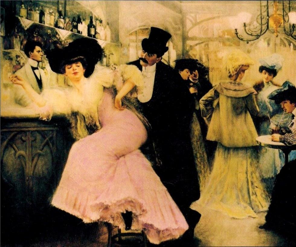 Le_bar_de_Maxim's_par_Pierre-Victor_Galland_(A)