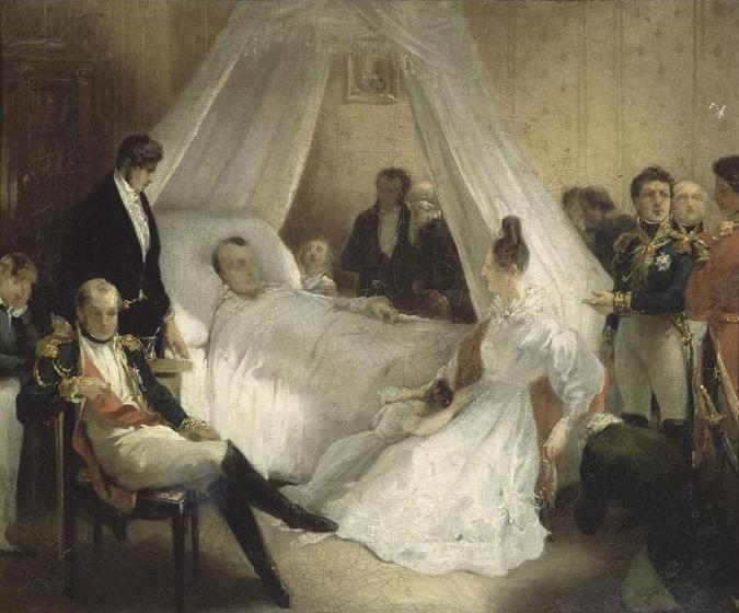 Steuben_-_Mort_de_Napoleon