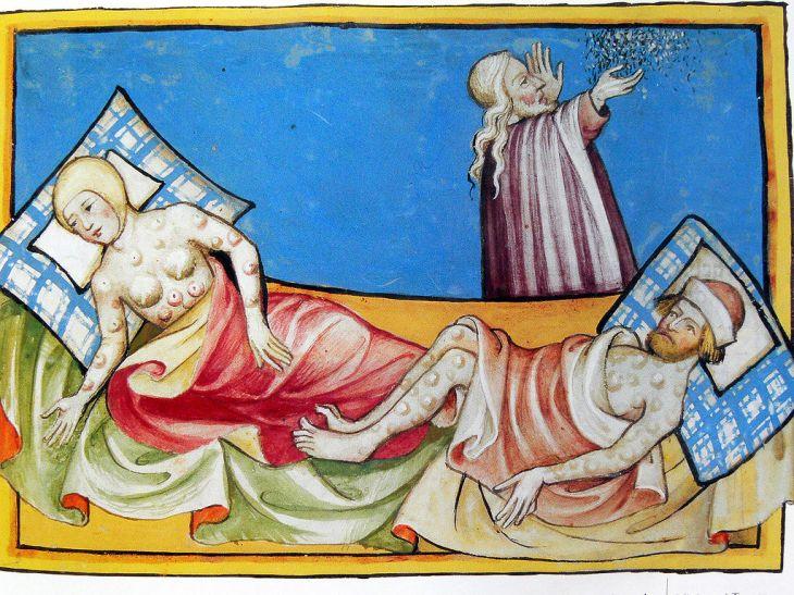 six plague smallpox ten plagues of egypt