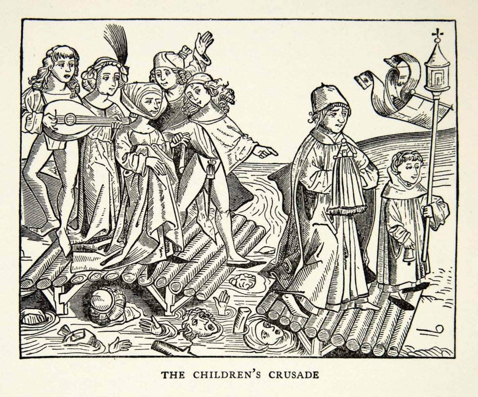 the children's crusade b&w