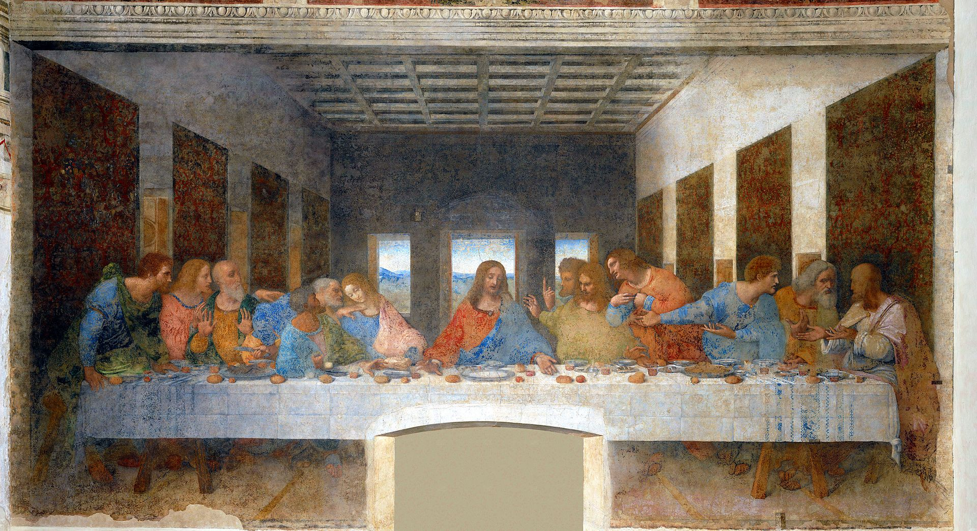 Última_CenaII La Cène The Last Supper-Leonardo da Vinci