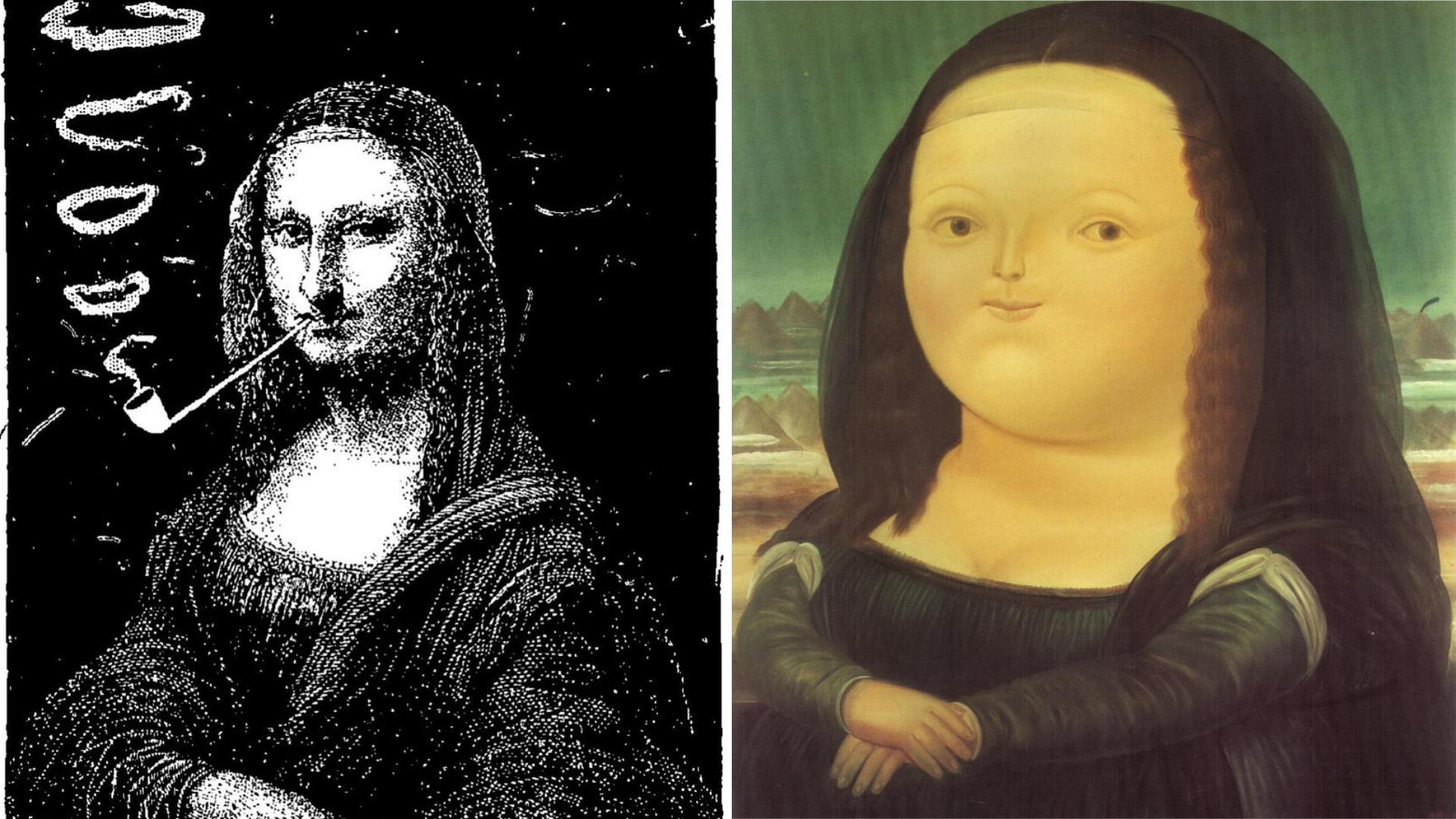 Mona Lisa détournements
