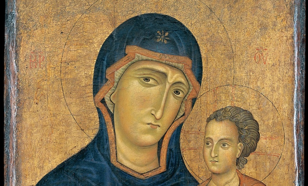 Madonna and Child medieval art MET