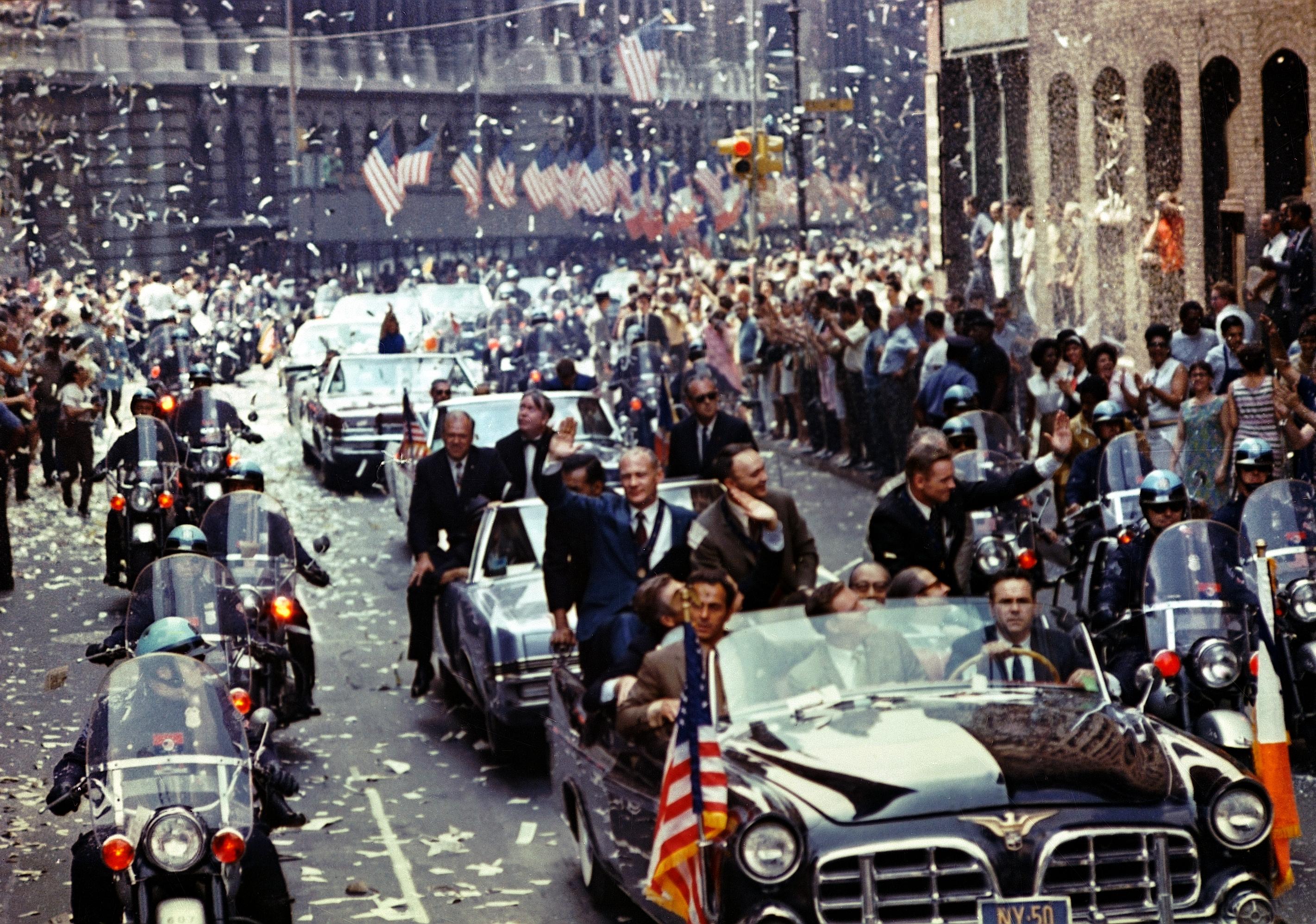 Apollo 11 astronauts parade NYC
