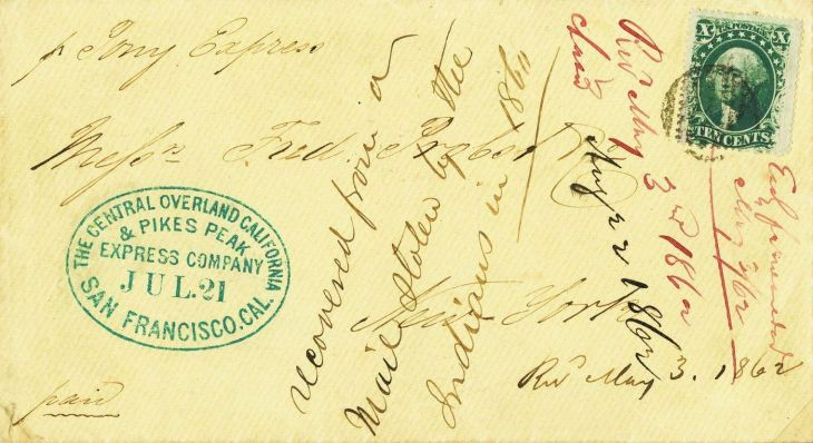 Pony_Express_Stolen_Mail_1860