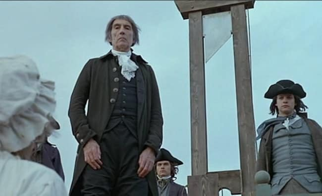 christopher lee the french revolution sanson executioner