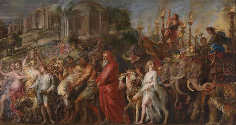 Rubens Roman Triumph National Gallery