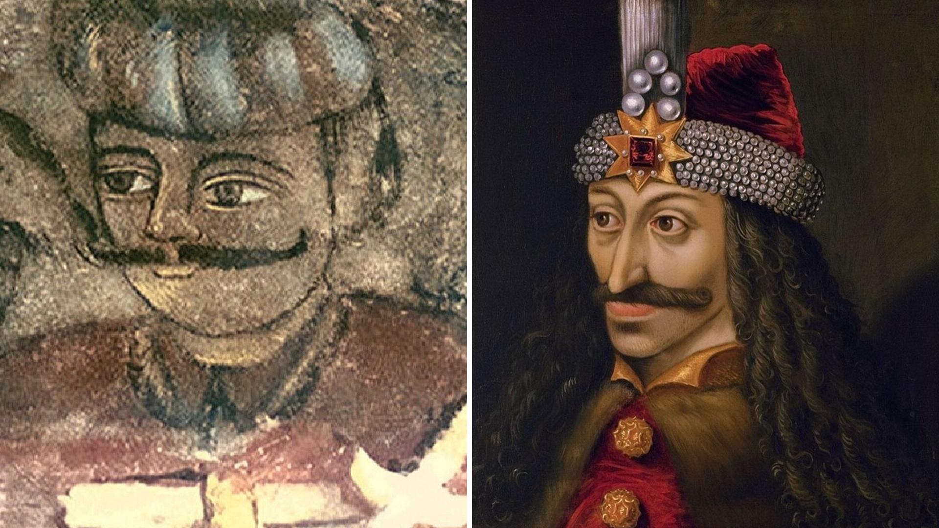 Vlad II Vlad III Dracula montage