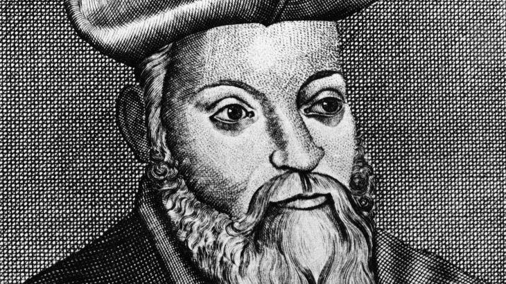 Nostradamus portrait Canva