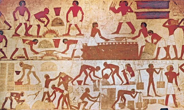 ancient egyptian workers not slaves misconceptions