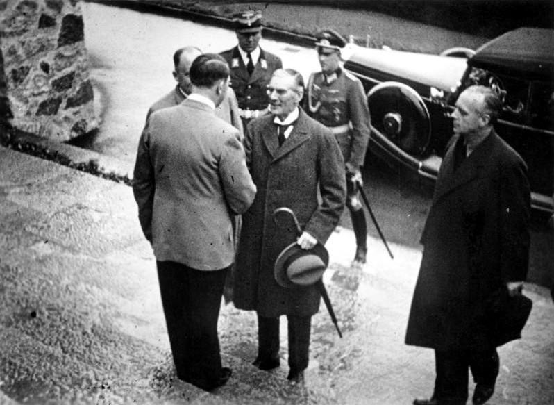 Obersalzberg, Münchener Abkommen, Vorbereitung