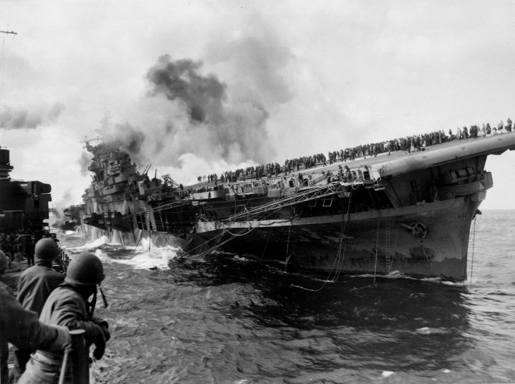 Operation Habbakuk WW2 ice ship
