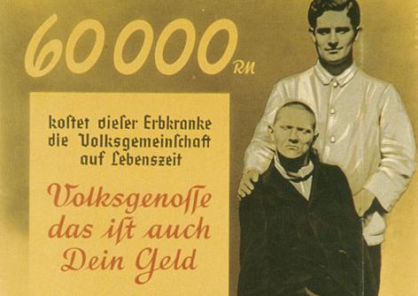 Euthanasia Propaganda Nazi Germany 1938