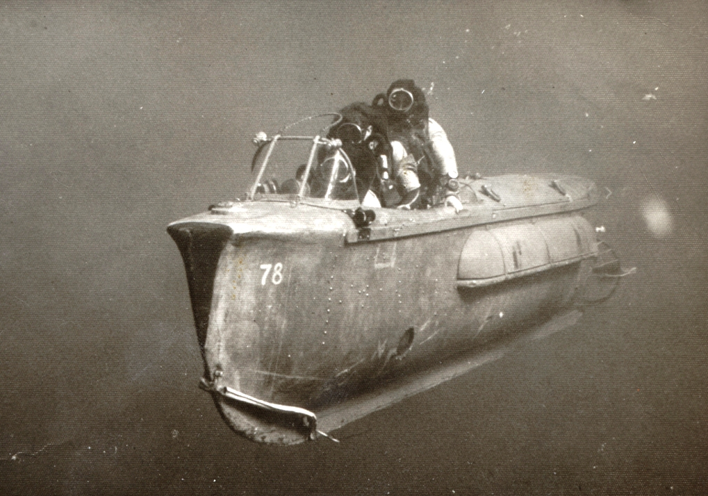 Human torpedo Haifa