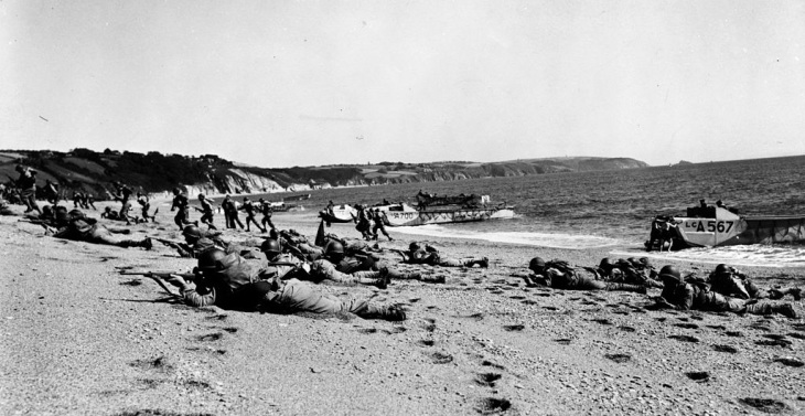 Opérations étranges Seconde Guerre Mondiale - D Day Slapton Sands