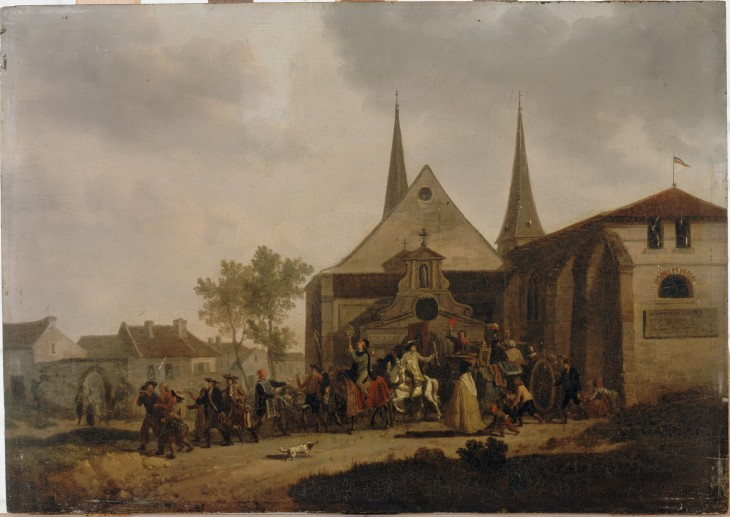 PILLAGE D'UNE EGLISE PENDANT LA REVOLUTION