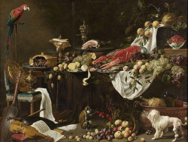 Banquet_Still_Life,_Adriaen_van_Utrecht,_1644_-_Rijksmuseum